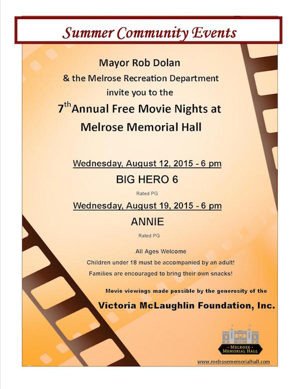 MH Movie Nights 2015 poster for city